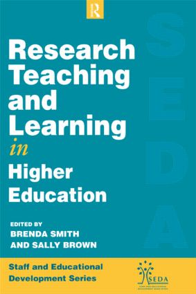 Research, Teaching and Learning in Higher Education book cover