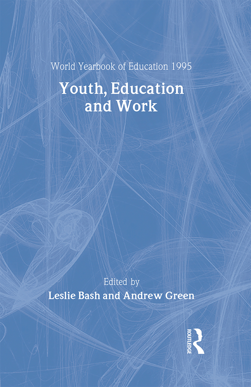 World Yearbook of Education 1995: Youth, Education and Work book cover