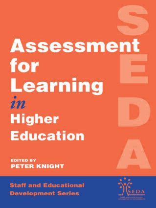Assessment for Learning in Higher Education: 1st Edition (e-Book) book cover