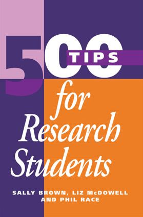 500 Tips for Research Students (Paperback) book cover