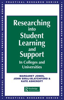 Researching into Student Learning and Support in Colleges and Universities: 1st Edition (Paperback) book cover
