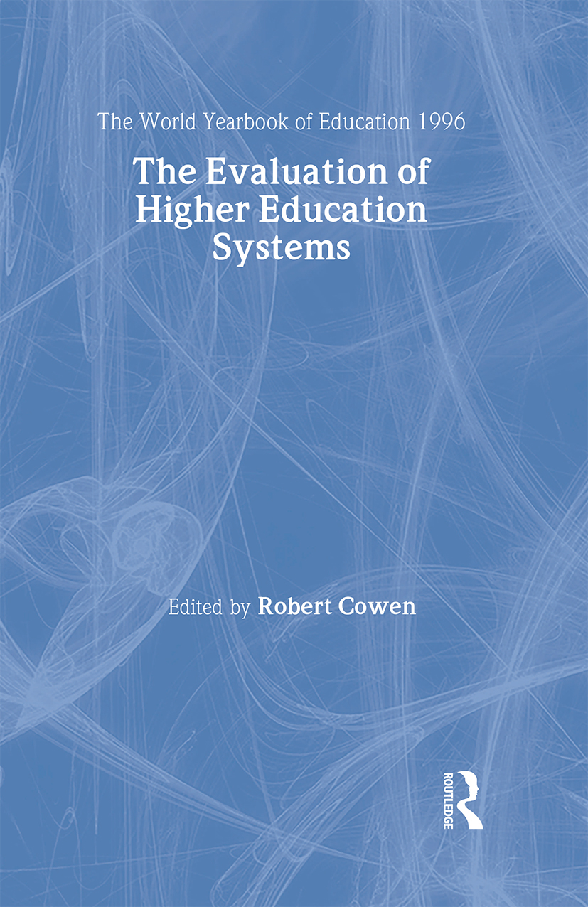 The World Yearbook of Education 1996: The Evaluation of Higher Education Systems book cover