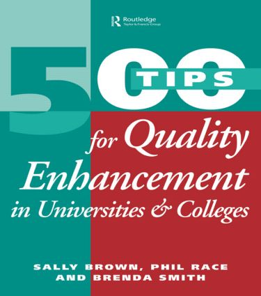 500 Tips for Quality Enhancement in Universities and Colleges book cover