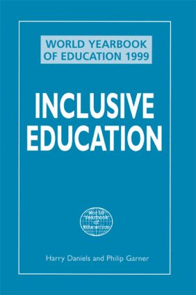 World Yearbook of Education 1999: Inclusive Education book cover