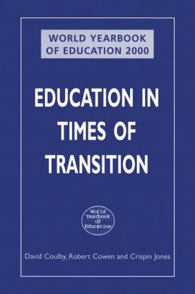 World Yearbook of Education 2000: Education in Times of Transition book cover