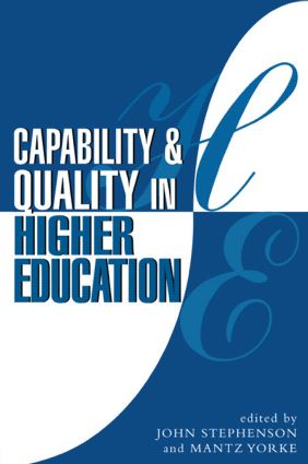 Capability and Quality in Higher Education (Paperback) book cover