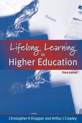 Lifelong Learning in Higher Education (Paperback) book cover