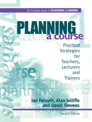 Planning a Course: 1st Edition (Paperback) book cover