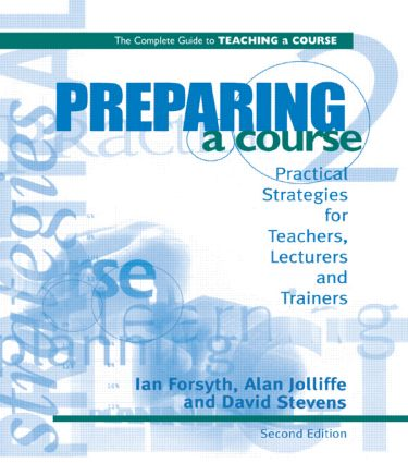 Preparing a Course: 1st Edition (Paperback) book cover