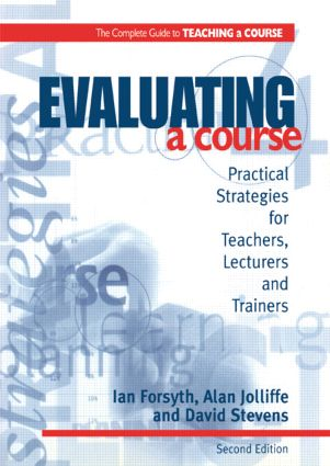 Evaluating a Course: 1st Edition (Paperback) book cover