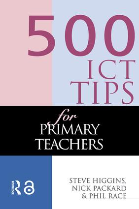 500 ICT Tips for Primary Teachers (Paperback) book cover