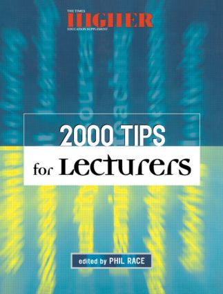 2000 Tips for Lecturers: 1st Edition (Paperback) book cover