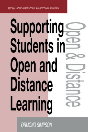 Supporting Students in Online Open and Distance Learning: 1st Edition (Paperback) book cover