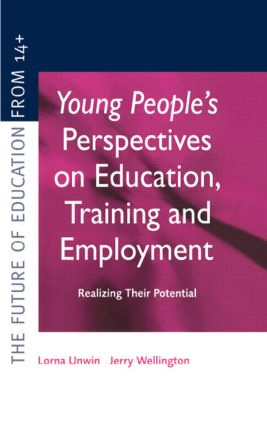 Young People's Perspectives on Education, Training and Employment: Realising Their Potential (Hardback) book cover
