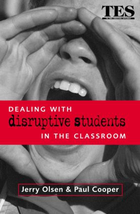 Dealing with Disruptive Students in the Classroom (e-Book) book cover