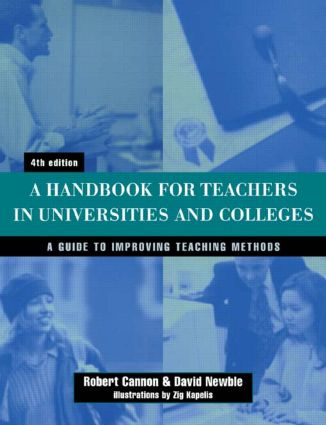 Handbook for Teachers in Universities and Colleges: 4th Edition (e-Book) book cover