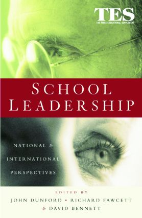 School Leadership: National and International Perspectives, 1st Edition (Paperback) book cover