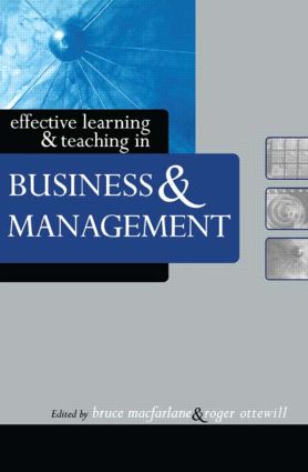 Effective Learning and Teaching in Business and Management: 1st Edition (Paperback) book cover