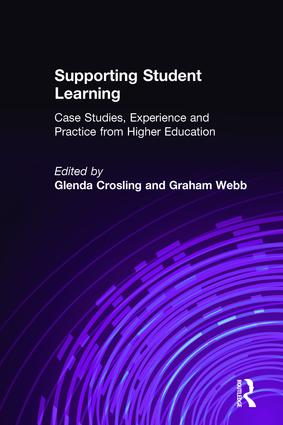 Supporting Student Learning: Case Studies, Experience and Practice from Higher Education (Paperback) book cover