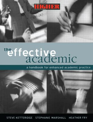 The Effective Academic: A Handbook for Enhanced Academic Practice (Paperback) book cover