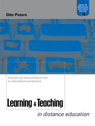 Learning and Teaching in Distance Education: Analyses and Interpretations from an International Perspective (Paperback) book cover