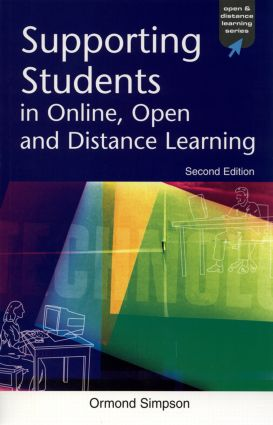 Supporting Students in Online, Open and Distance Learning (Hardback) book cover