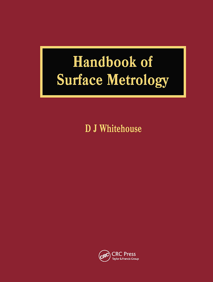 Handbook of Surface Metrology: 1st Edition (Hardback) book cover