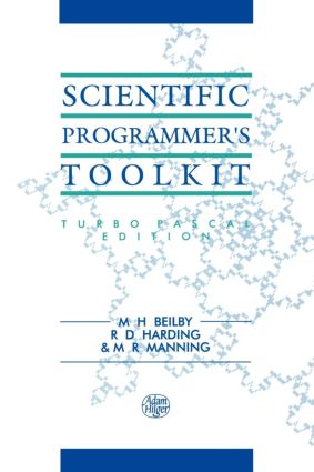 Scientific Programmer's Toolkit: Turbo Pascal Edition, 1st Edition (Paperback) book cover