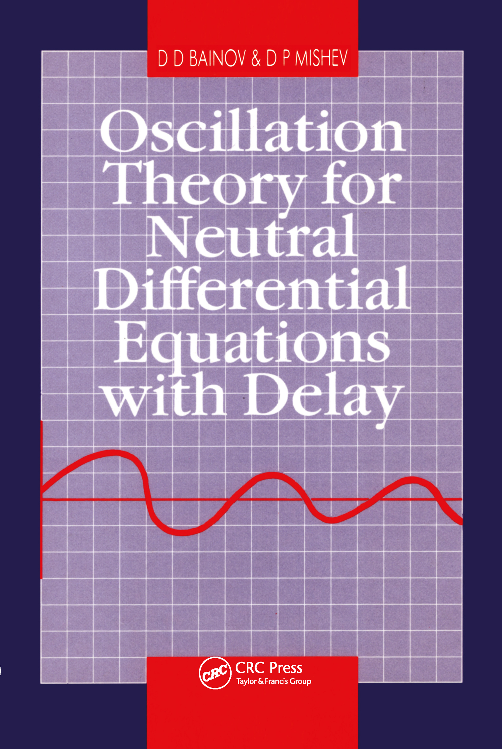 Oscillation Theory for Neutral Differential Equations with Delay: 1st Edition (Hardback) book cover