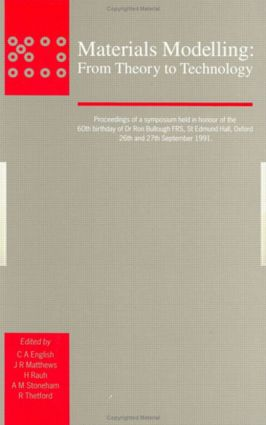 Materials Modelling: From Theory to Technology, 1st Edition (Hardback) book cover