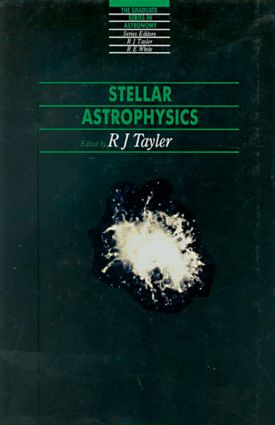 Stellar Astrophysics book cover