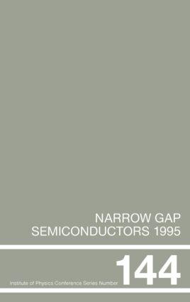 Narrow Gap Semiconductors 1995: Proceedings of the Seventh International Conference on Narrow Gap Semiconductors, Santa Fe, New Mexico, 8-12 January 1995, 1st Edition (Hardback) book cover