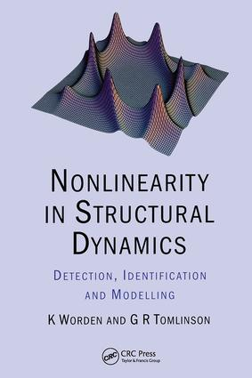 Nonlinearity in Structural Dynamics: Detection, Identification and Modelling, 1st Edition (Hardback) book cover
