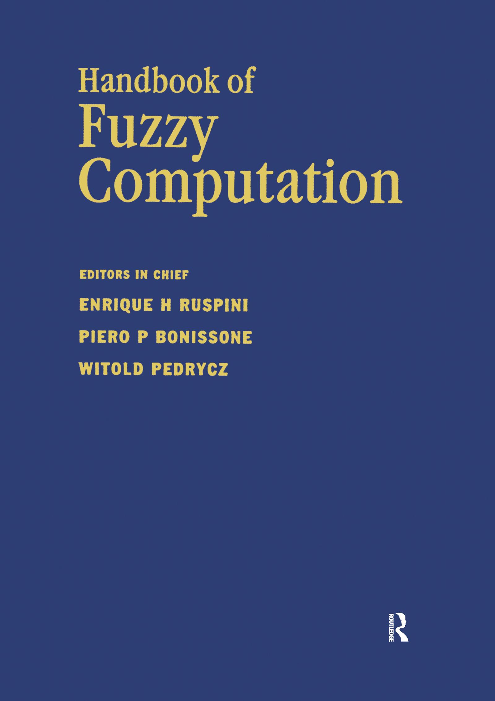 Handbook of Fuzzy Computation: 1st Edition (Hardback) book cover