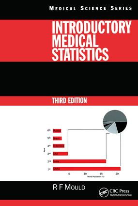 Introductory Medical Statistics, 3rd edition: 3rd Edition (Hardback) book cover