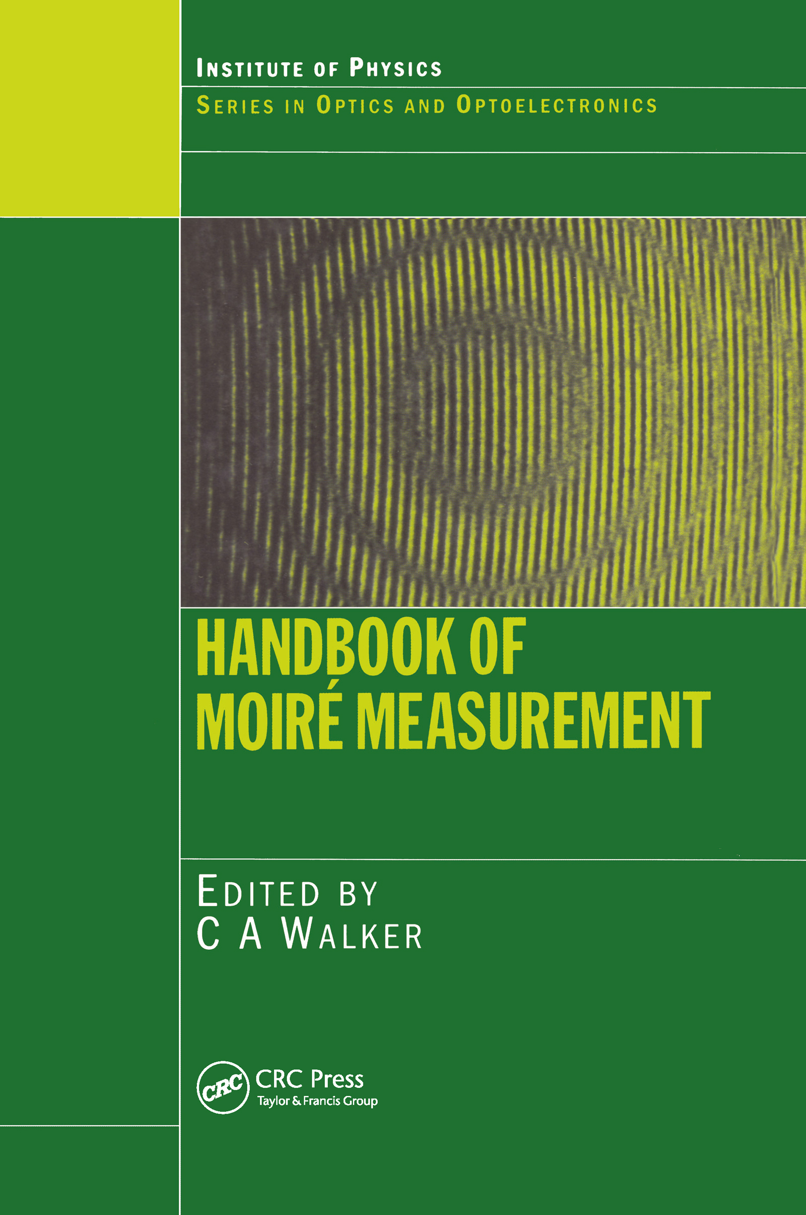 Handbook of Moire Measurement book cover