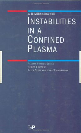Instabilities in a Confined Plasma: 1st Edition (Hardback) book cover