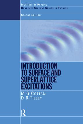 Introduction to Surface and Superlattice Excitations: 2nd Edition (Paperback) book cover