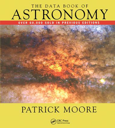The Data Book of Astronomy: 1st Edition (Hardback) book cover