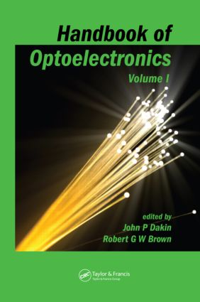 Handbook of Optoelectronics (Two-Volume Set) (Hardback) book cover