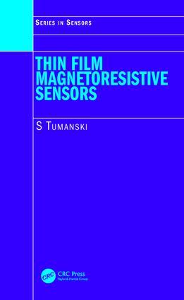 Thin Film Magnetoresistive Sensors book cover
