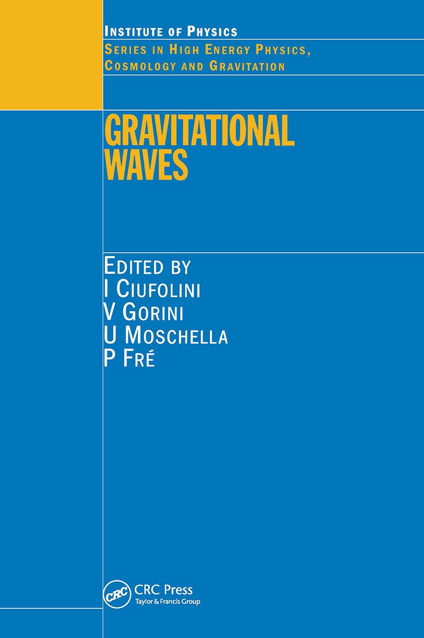 Gravitational Waves: 1st Edition (Hardback) book cover