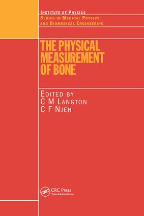 The Physical Measurement of Bone book cover