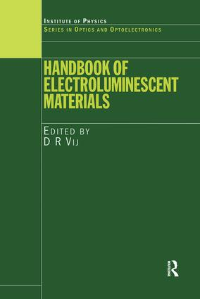 Handbook of Electroluminescent Materials: 1st Edition (Hardback) book cover