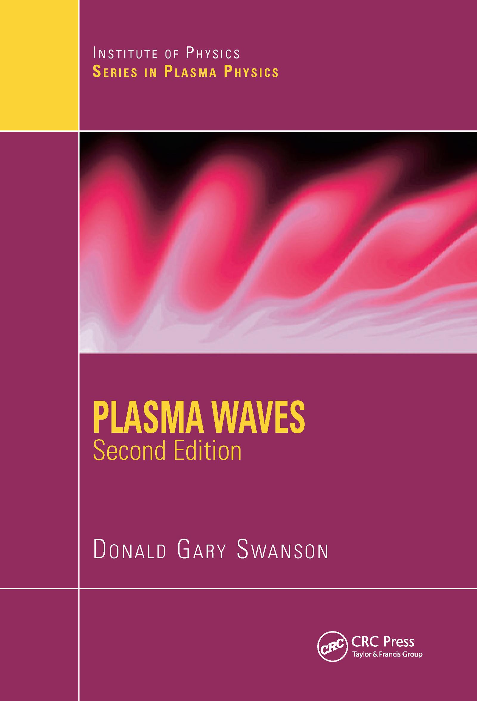 Plasma Waves: 2nd Edition (Hardback) book cover