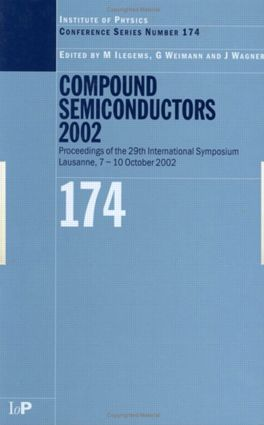Compound Semiconductors 2002: 1st Edition (Hardback) book cover