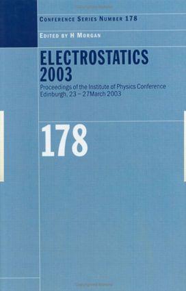 Electrostatics 2003 book cover