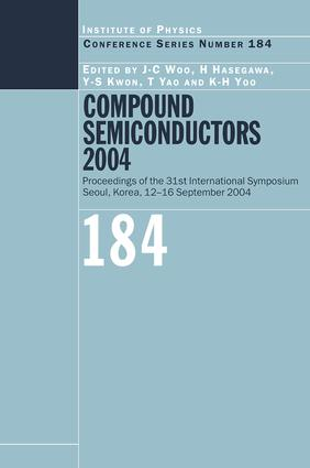 Compound Semiconductors 2004: Compound Semiconductors for Quantum Science and Nanostructures, 1st Edition (Hardback) book cover