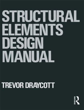 Structural Elements Design Manual: 1st Edition (Paperback) book cover