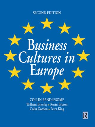 Business Cultures in Europe: 2nd Edition (Paperback) book cover